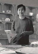 签约巴黎美爵的中国当代著名美术家林敦席